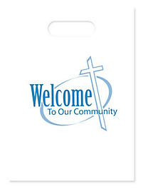 Welcome To Our Community Bag