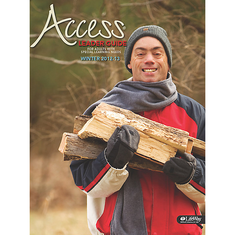 Bible Studies for Life: Access Leader Guide - Winter 2013