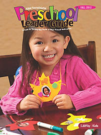 Bible Foundations: Preschool Leader Guide - Fall 2012