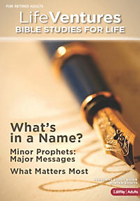 Bible Studies for Life: LifeVentures Personal Study Guide - Winter 2013