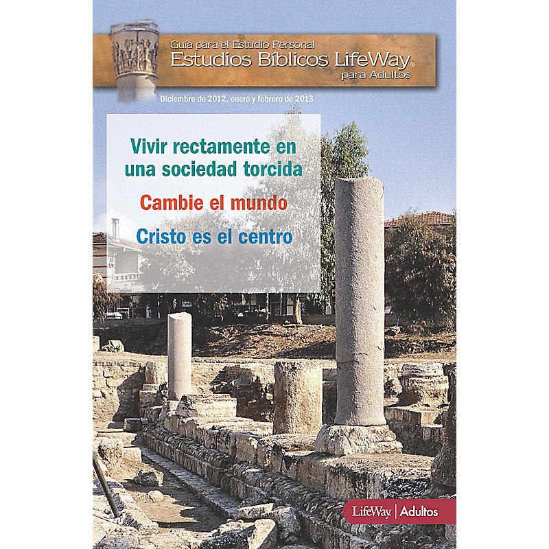 Estudios B�blicos para Adultos: Manual para el Participante - Invierno 2013