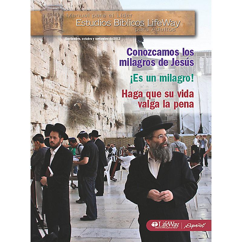 Estudios B�blicos para Adultos: Manual para el L�der - Oto�o 2012
