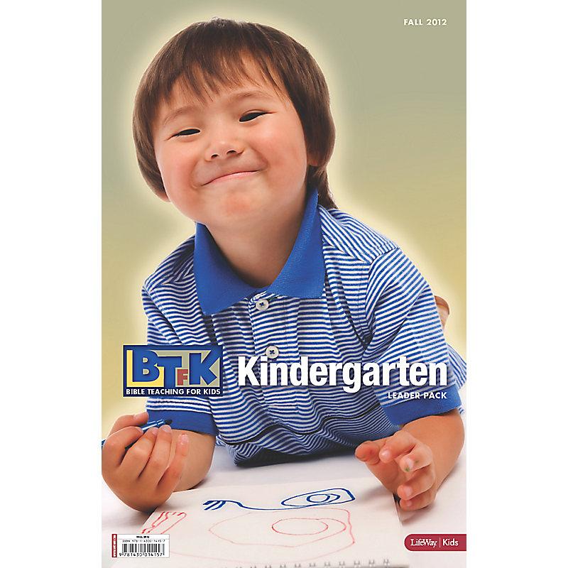 Bible Teaching for Kids: Kindergarten Leader Pack - Fall 2012