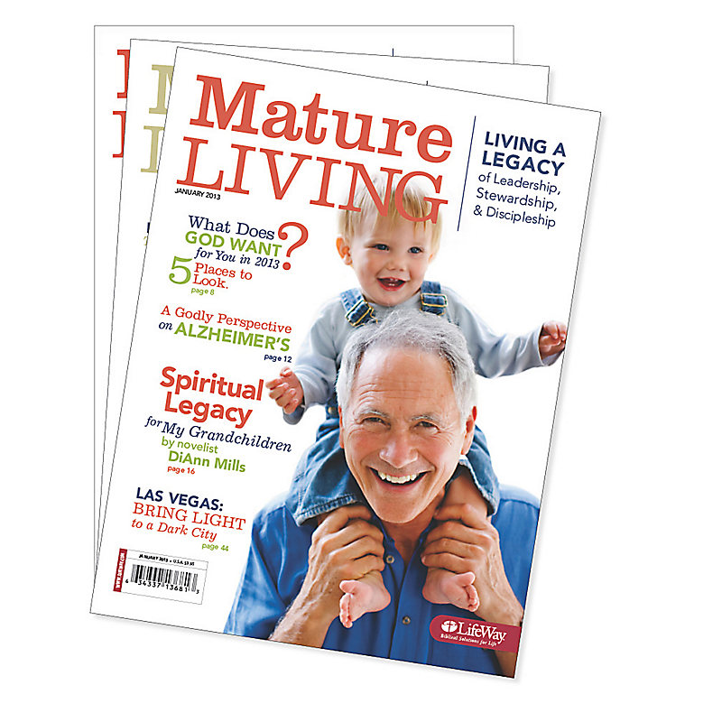 Mature Living - Winter 2013 Bundle