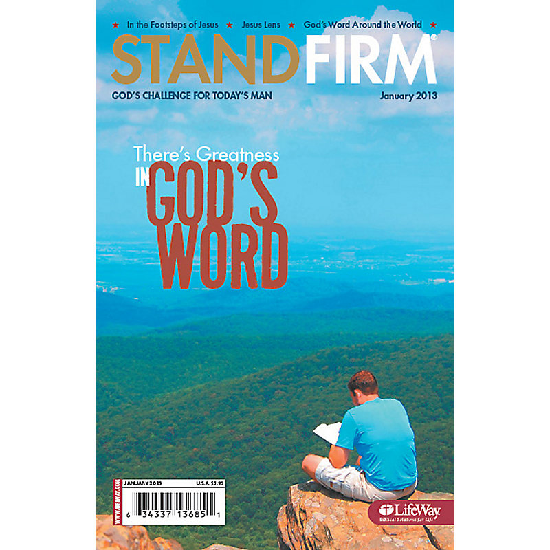 Stand Firm - January 2013
