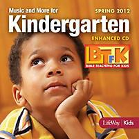 Bible Teaching for Kids: Music and More for Kindergarten Enhanced CD - Spring 2012
