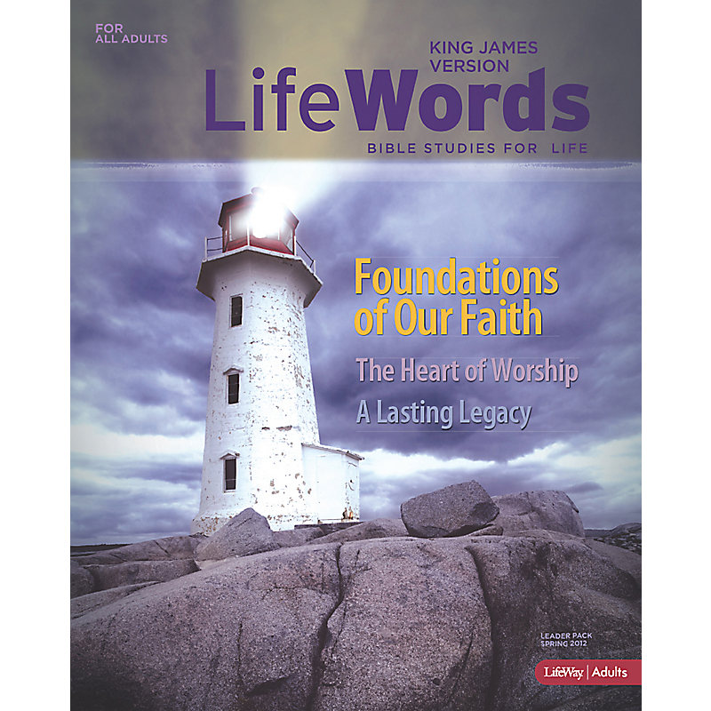 Bible Studies for Life: LifeWords KJV Leader Pack - Spring 2012