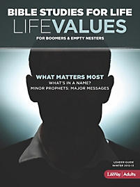 Bible Studies for Life: LifeValues Leader Guide - Winter 2013