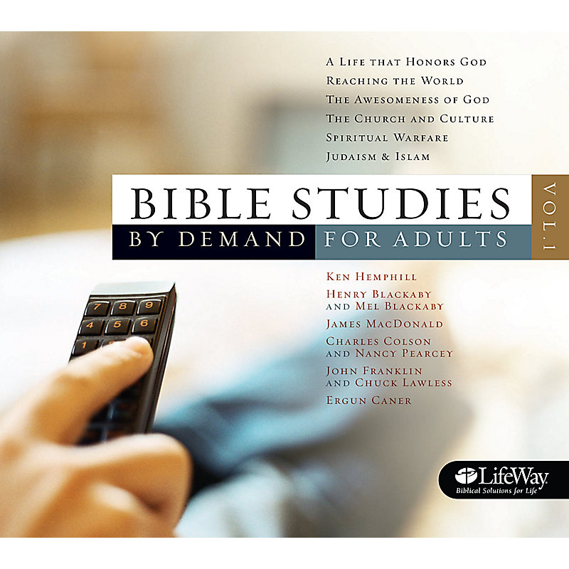 Bible Studies by Demand for Adults DVDs - Vol 1