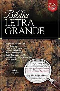 Biblia Letra Grande - Vino