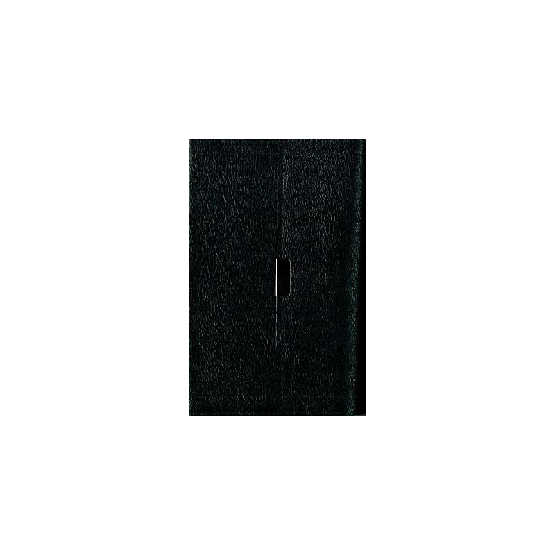 Compact Thinline Reference Bible-NIV-Button Flap                                                                                                       (Black)