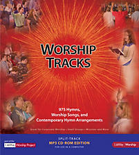 LifeWay WorshipTracks - Split-track MP3 CD-ROM