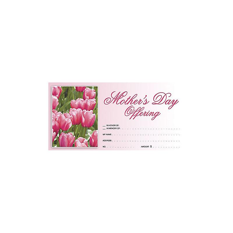 Mother's Day Offering Envelopes Pkg of 100