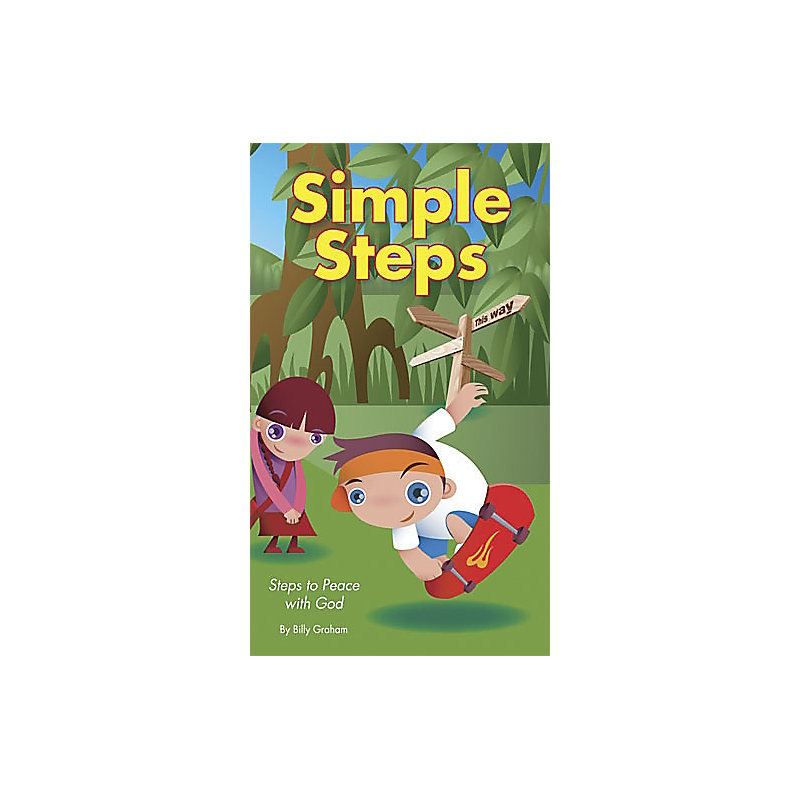 Inspirational Tract - Simple Steps: Peace With God