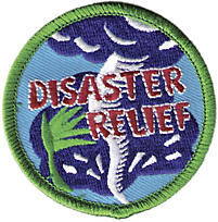 Disaster Relief Badge