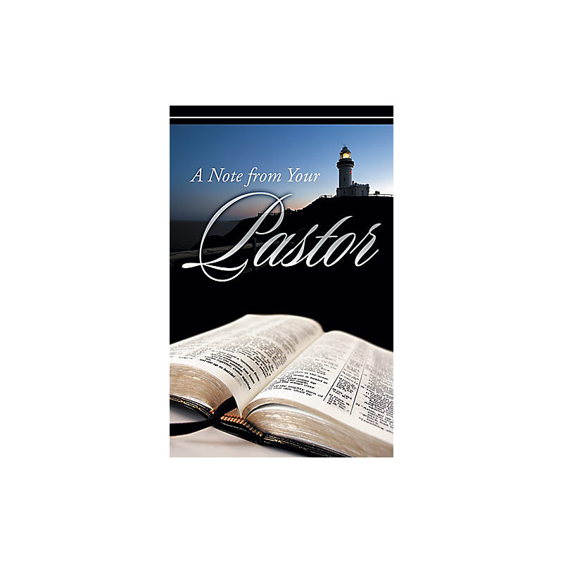 Postcard- Note From Pastor
