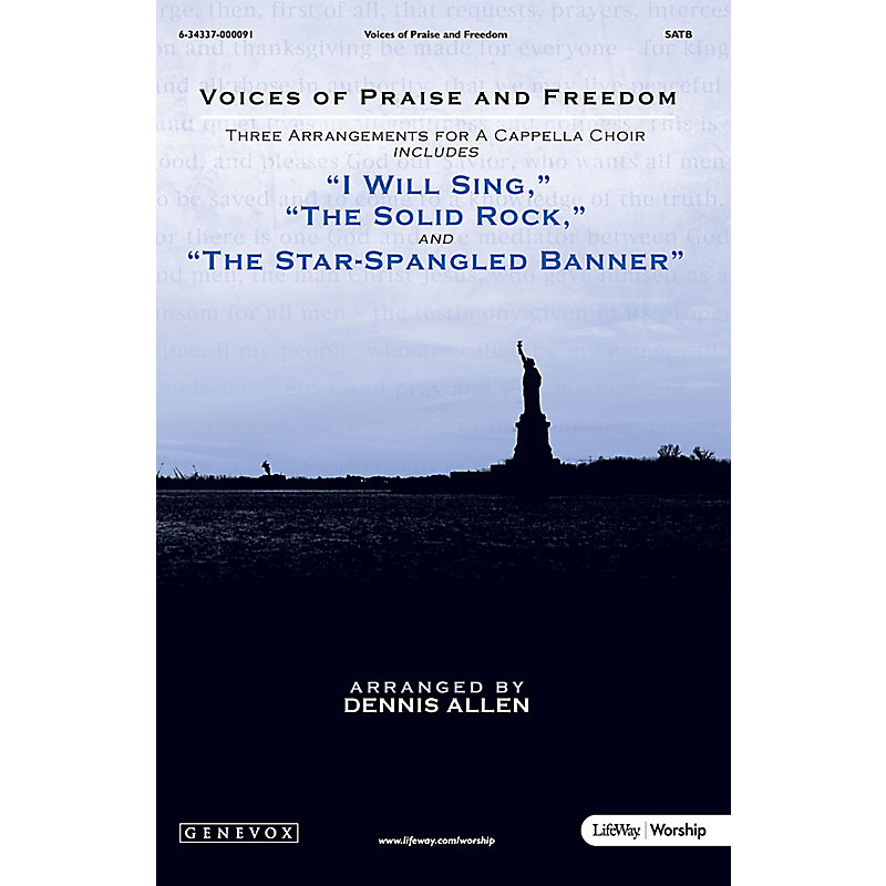 Voices of Praise and Freedom: Three Arrangements for A Cappella Choir - SATB Anthem