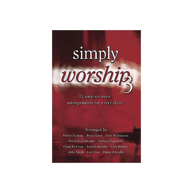 Simply Worship 3 Accomp. CD (split)