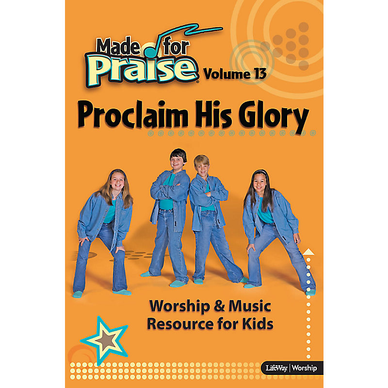 Made for Praise, Vol 13 - Chord Charts