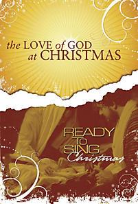 The Love Of God At Christmas Accomp. CD (split)