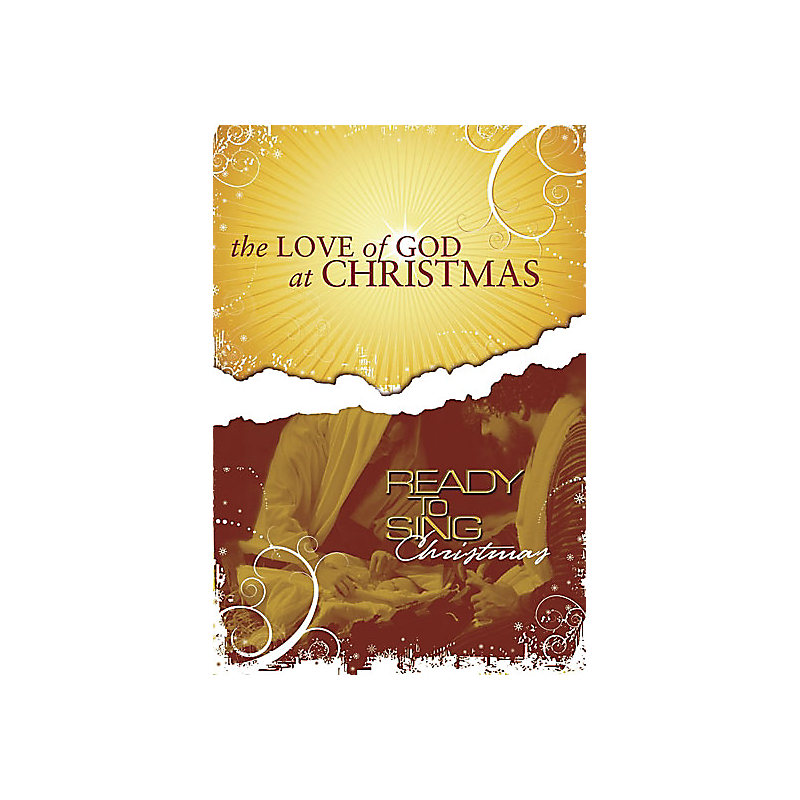 The Love Of God At Christmas Rehearsal CD (sop.)