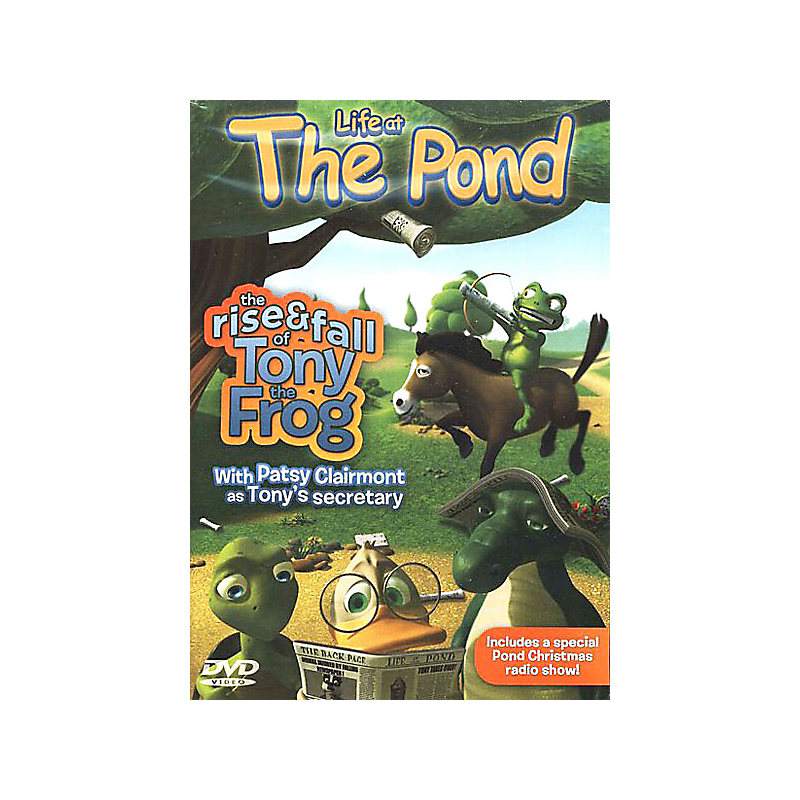 The Pond: The Rise & Fall of Tony the Frog DVD