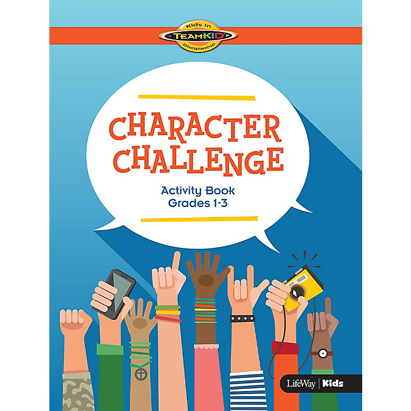 TeamKID: Character Challenge - Activity Book for Grades 1-3