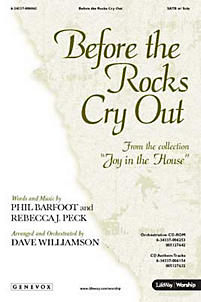 Before the Rocks Cry Out - CD-ROM Orchestration (PDF)
