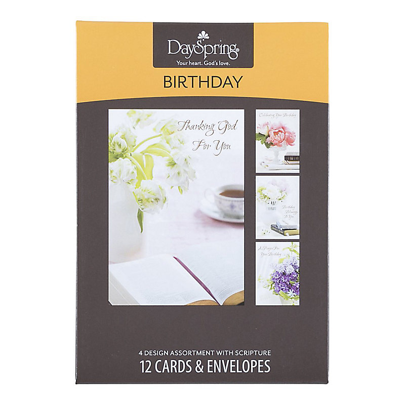 Boxed Cards Birthday Classic KJV – Boxed Cards Birthday