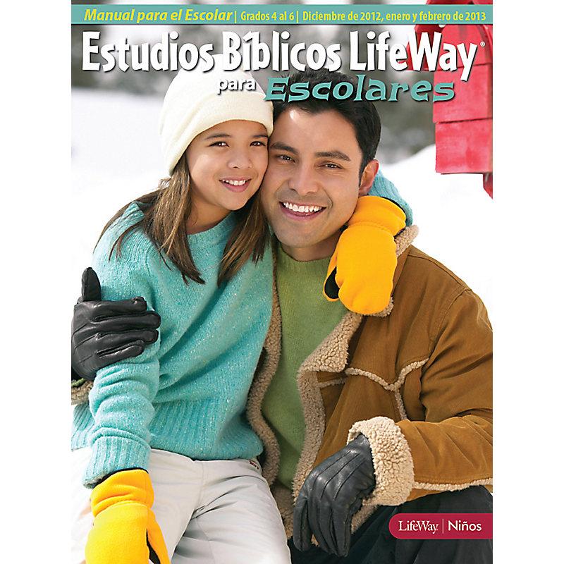 Estudios B�blicos para Escolares del 4 al 6 Grados: Manual para el Escolar - Invierno 2013