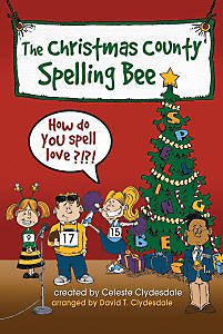 The Christmas County Spelling Bee Accompaniment CD Split