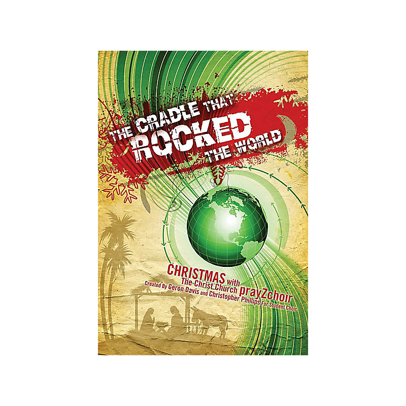 Cradle That Rocked the World Soprano Rehearsal Track CD