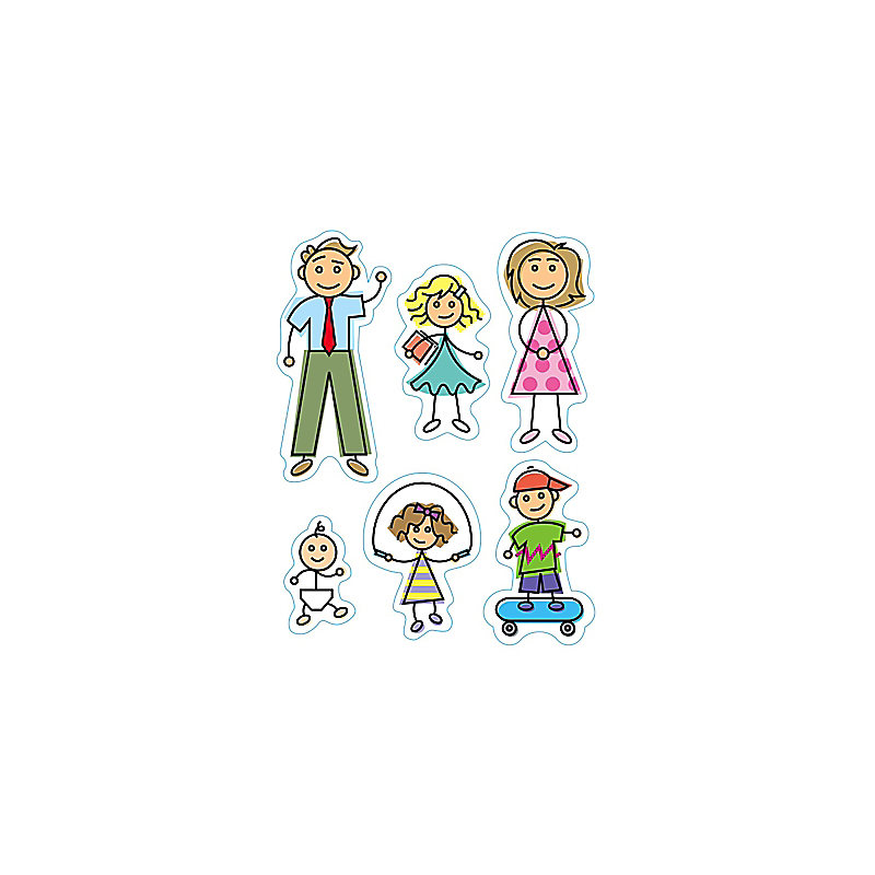 Levels of Biblical Learning: Stickers - My Family