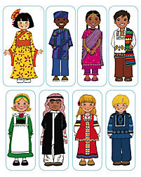 Levels of Biblical Learning: Stickers - Kid's Around the World