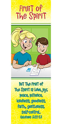 Levels of Biblical Learning: Bookmarks - Fruit of the Spirit