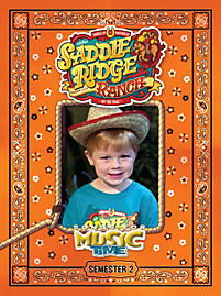 Music Time: Saddle Ridge Ranch - Semester 2 Activity Book