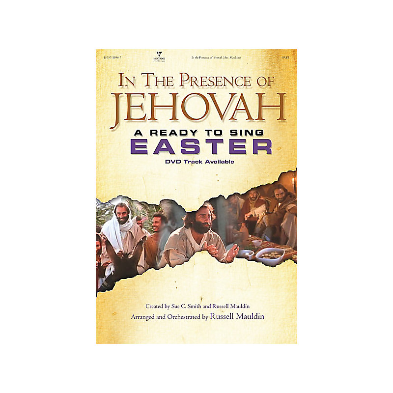 In The Presence of Jehovah Alto Rehearsal CD