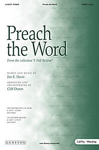 Preach the Word - Orchestration CD-ROM (PDF)