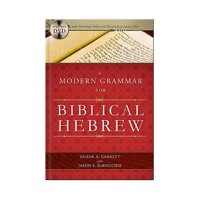 A Modern Grammar for Biblical Hebrew