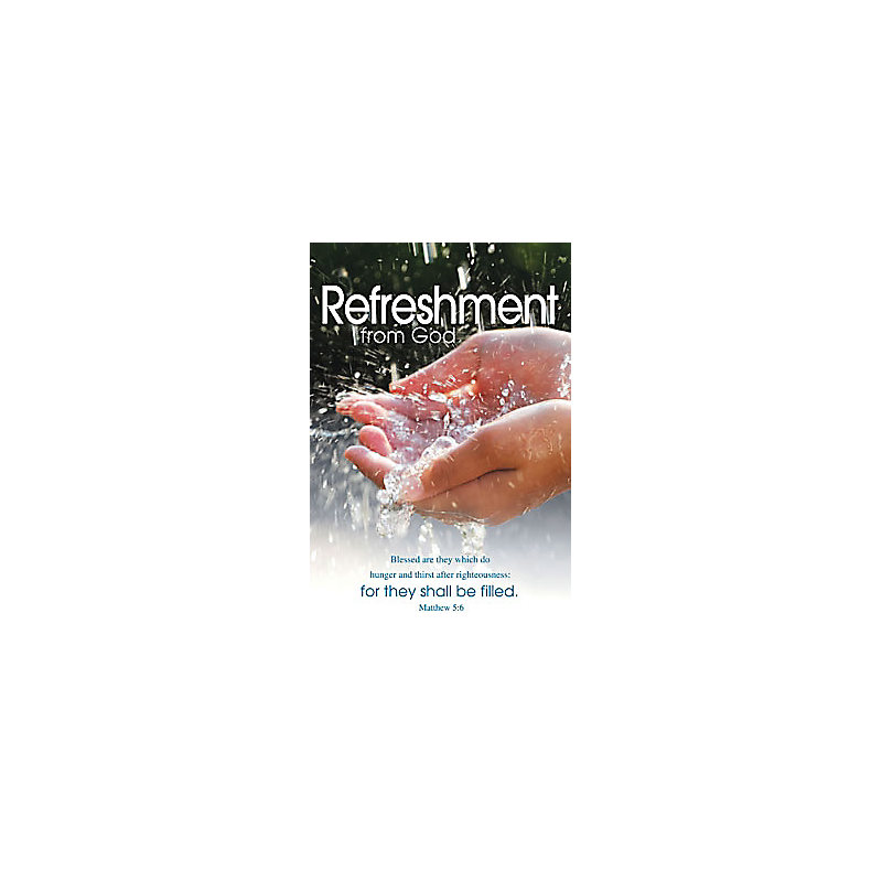 Bulletins: Refreshment from God