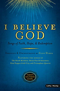 I Believe God - Orchestration CD-ROM (PDF)
