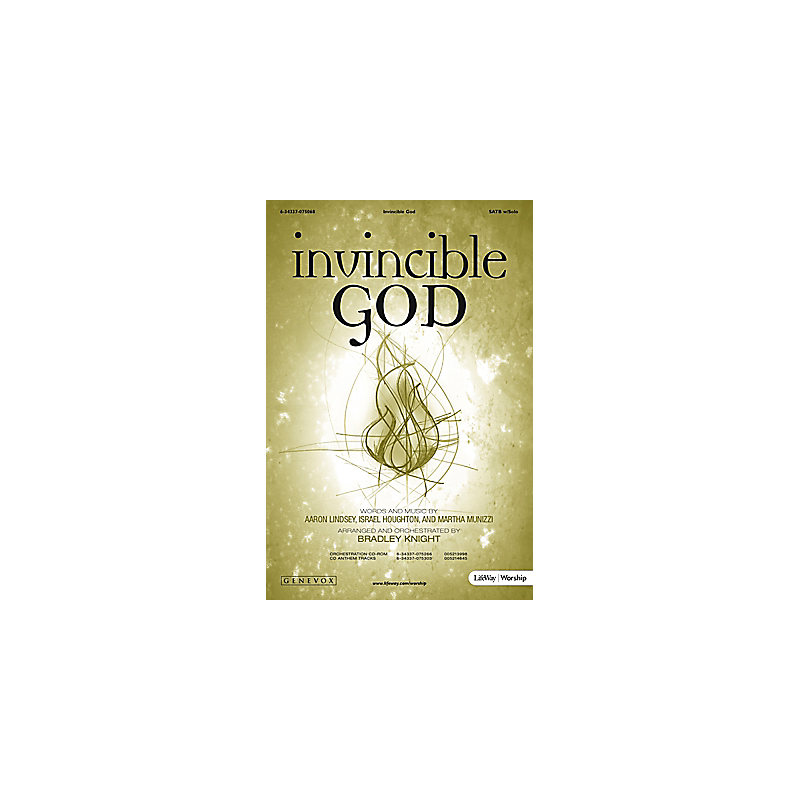 Invincible God - Orchestration CD-ROM (PDF)