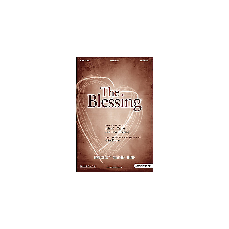 The Blessing - Orchestration CD-ROM (PDF)