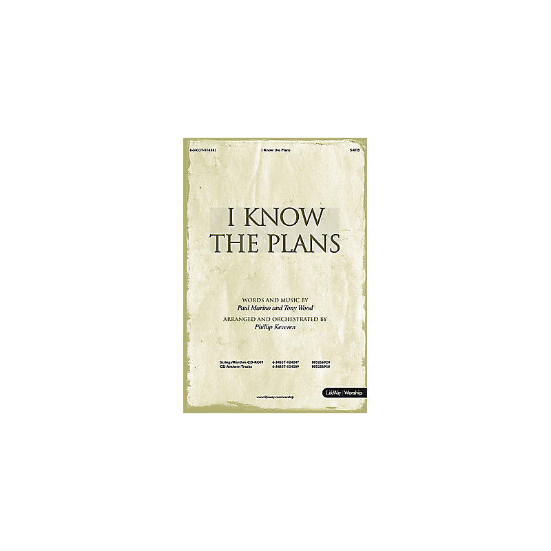 I Know the Plans - Rhythm/Strings CD-ROM (PDF)