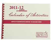 Calendar of Activities: 2011 - 2012