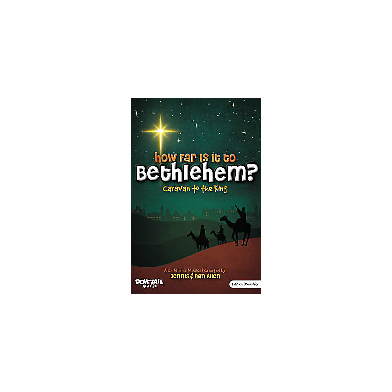 How Far Is It to Bethlehem - Posters (Pack of 10)