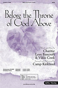 Before the Throne of God Above - Orchestration CD-ROM (PDF)
