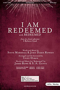 I Am Redeemed - Orchestration CD-ROM (PDF)