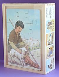 Wooden Box Puzzles: David (Set of 4)