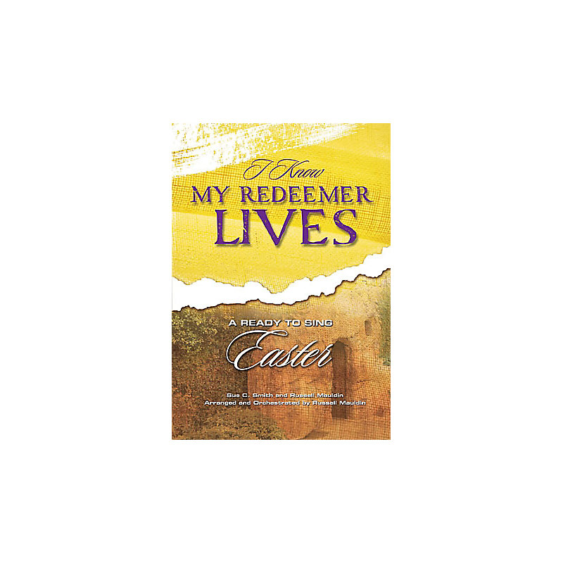 I Know My Redeemer Lives A Ready to Sing Easter Bass Rehearsal Track CD